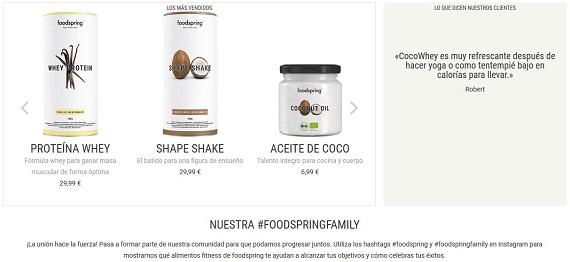 foodspring españa