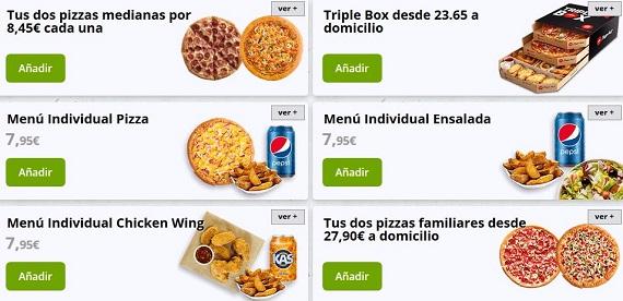 pizza hut ofertas