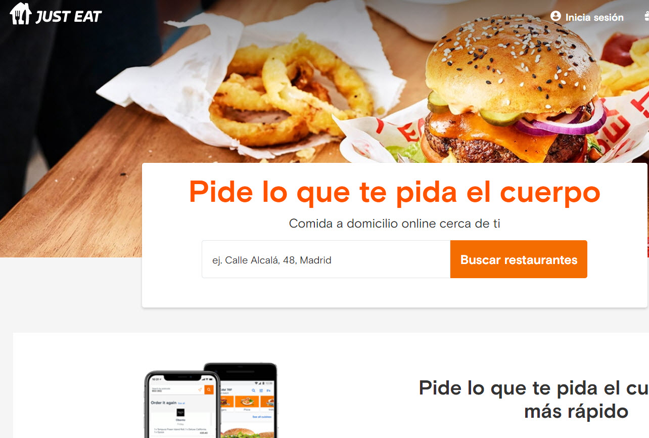 just eat opiniones