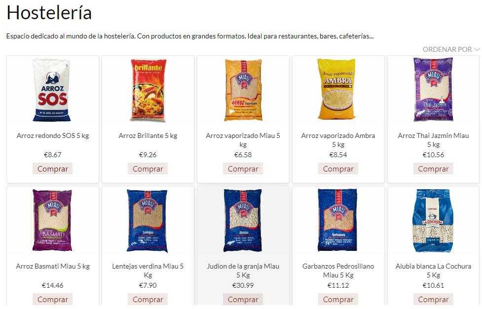 jelsproductos productos de hostelería